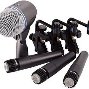 Micrófonos batería