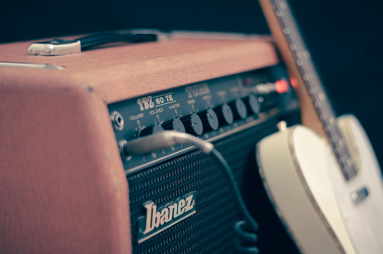 amplifier, electric, guitar